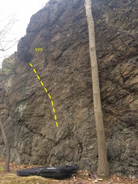 Rock Climbing Photo: Project Left.