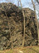 Rock Climbing Photo: Main Face.