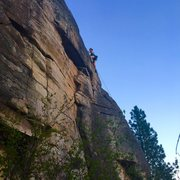 Rock Climbing Photo: Hold up bluffs, koocanusa