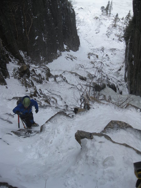 Trap Dike, Mt. Colden