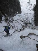 Rock Climbing Photo: Trap Dike, Mt. Colden
