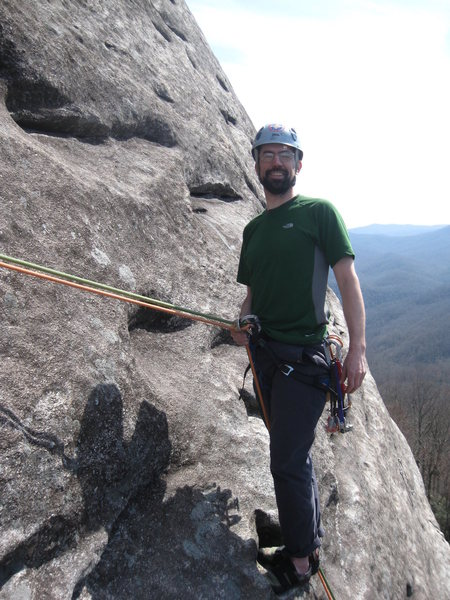 P2. belay on Looking Glass <br> (linked p1-2)
