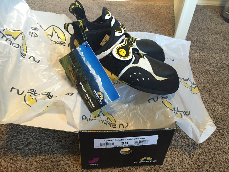 FS: La Sportiva Solutions, Brand New in Box - size 39