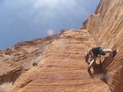 Rock Climbing Photo: My favorite pitch....