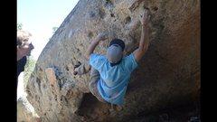 Rock Climbing Photo: Lance Carrera on Pumperknickel