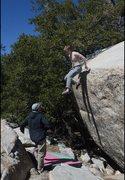 Rock Climbing Photo: Downclimb beta