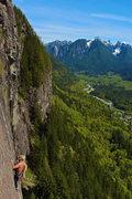Rock Climbing Photo: Michal on P3.
