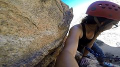 Rock Climbing Photo: Echo Cove, JT