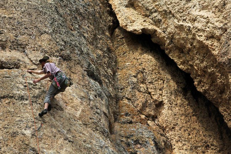 Rock Climbing Photo: resting jugs