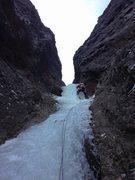 Rock Climbing Photo: Last pitch of Spring Fling