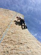 Rock Climbing Photo: Eden Anbar enjoying the view