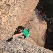 Rock Climbing Photo: Another lap for the books. Photo by Randy Englekir...