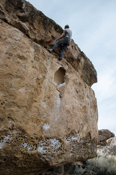 Rock Climbing Photo: Topping out My Heart Grew Wings