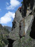 Rock Climbing Photo: Matt Hartman climbing Catapult.