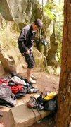 Rock Climbing Photo: O-Zone... Columbia River Gorge, outside Portland, ...
