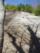 "Rock Climbing Photo: Far right side of the Carpet Slab - ""Carpet S..."