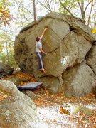 Rock Climbing Photo: Easy problem.