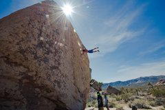 Rock Climbing Photo: Jugs at the lip