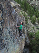 Rock Climbing Photo: Resting before the last crux.