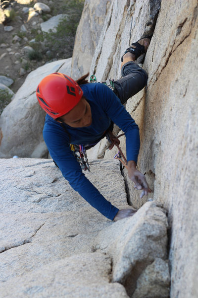 Rock Climbing Photo: Climber: Gerry Egbalic