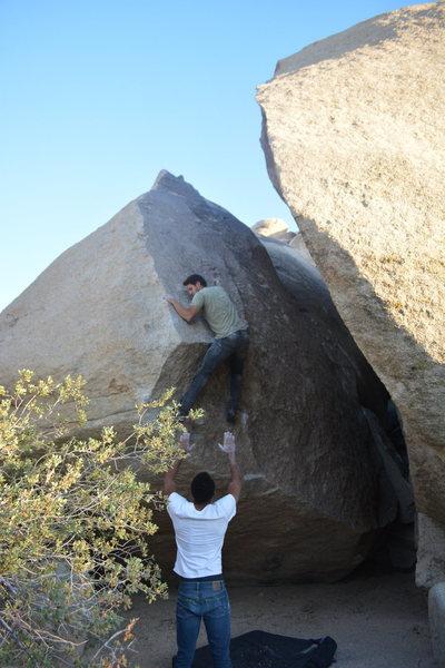 Rock Climbing Photo: Adam Gill