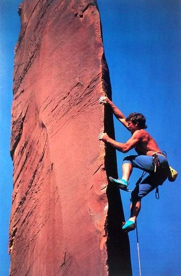 "Rock Climbing Photo: Charlie Fowler on ""Charlie's Angel"" ..."