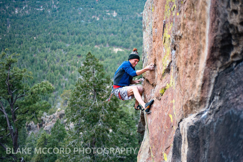 Rock Climbing Photo: Joel Unema  Photo - Blake McCord www.blakemccordph...