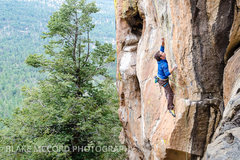 Rock Climbing Photo: John Crawley on the Hermit  Photo - Blake McCord w...