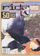 I grew up in the 90s-2000s riding BMX in the midwest - pouring over magazines because the internet was still burgeoning. Years later I found myself in the Santee Boulder field, perplexed over why this seemed so familiar. <br /> <br />Rider: Dave Voelker  <br />Photo: Mark Losey <br /> <br />(link - <a href='http://www.23mag.com/mags/rus/rus00.htm)' target='_blank' rel='nofollow' >23mag.com/mags/rus/rus00.htm)</a>