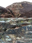 Rock Climbing Photo: 2 - When you get to the top of the gully DO NOT go...