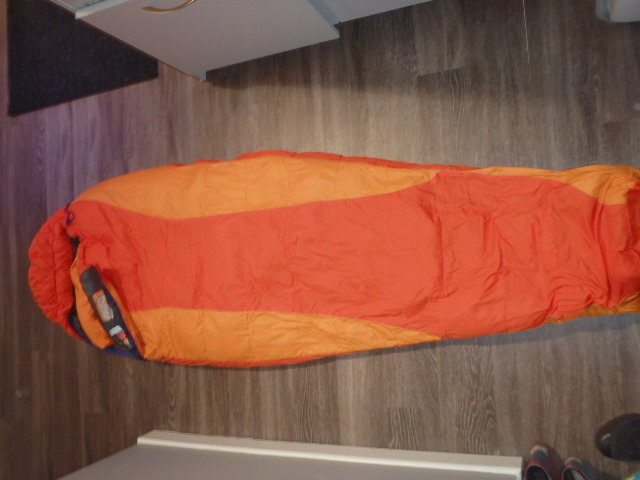 Rock Climbing Photo: Used only once . Ouray Marmot W's bag Long Regular...