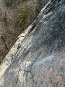Rock Climbing Photo: Pitch 2.  Great position.  Great rock.