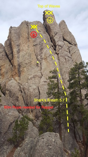 Rock Climbing Photo: Shark's Breath