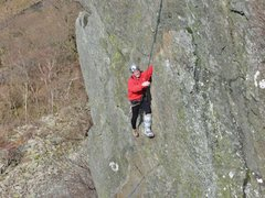 Rock Climbing Photo: Peg Leg 2016
