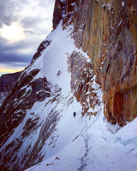 Rock Climbing Photo: Winter 2016.