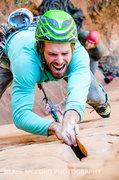 Rock Climbing Photo: Fun splitter fingers!.....  Photo - Blake McCord w...