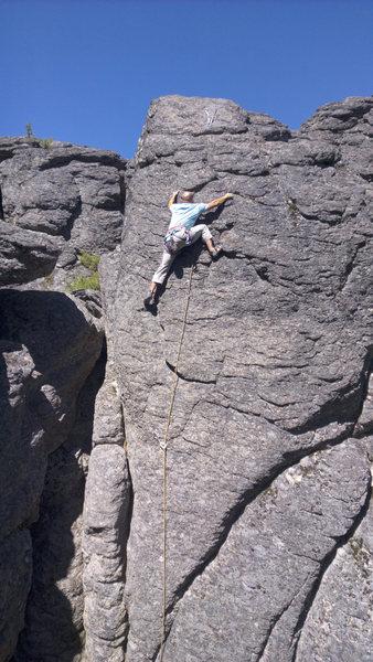 Rock Climbing Photo: Inversion Excursion, Bulo Point