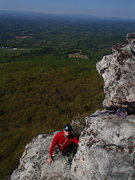 Rock Climbing Photo: Almost to the top