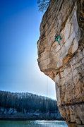 Rock Climbing Photo: Rosaleen on Masuko