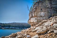 Rock Climbing Photo: Andrew on Masuko