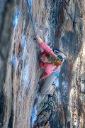 Rock Climbing Photo: Jennifer gettin' some