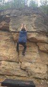 Rock Climbing Photo: The crimp