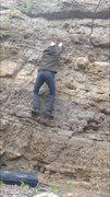 Rock Climbing Photo: The double crimps