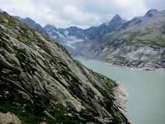 Rock Climbing Photo: Placche del Lago from the approach trail