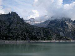 Rock Climbing Photo: Seeplatten aka Placche del Lago