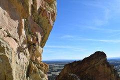 Rock Climbing Photo: Hanging on some jugs