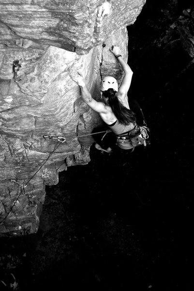 Rock Climbing Photo: Tarantella @ Lilly Bluffs