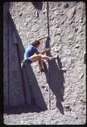 Rock Climbing Photo: at UW Practice Rock. Photo by Jeff Smoot. c. 1985