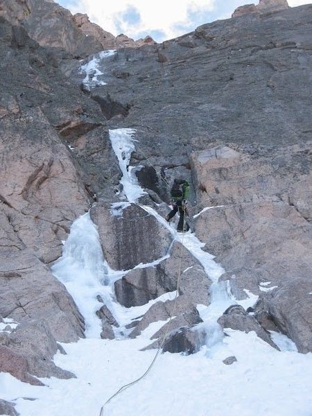 Alexanders Chimney, Longs Peak