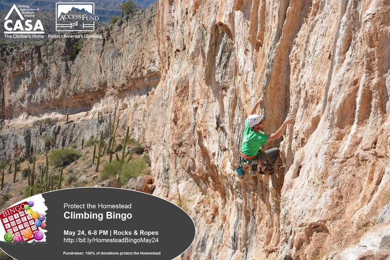 Rock Climbing Photo: Protect the Homestead!